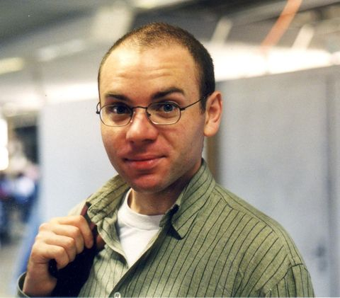 Karl at the Aerosol Conference in Prag, 1999