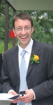 Martin as best man 2004