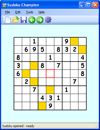 Click to view Sudoku Champion screenshots